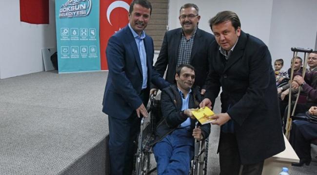 Engelli Gencin Hayalini, Başkan Aydın Gerçekleştirdi..