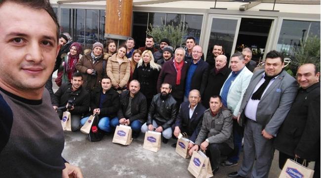 BELLİ VE BASIN AİLESİ BİR ARAYA GELDİ..