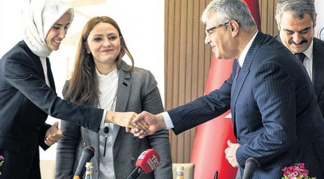 AFAD VE KADEM ARASINDA SURİYELİ KADINLARIN ENTEGRASYONU PROTOKOLÜ İMZALANDI..