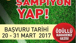 BÜYÜKŞEHİR'DEN 'OKULUNU ŞAMPİYON YAP' PROJESİ..