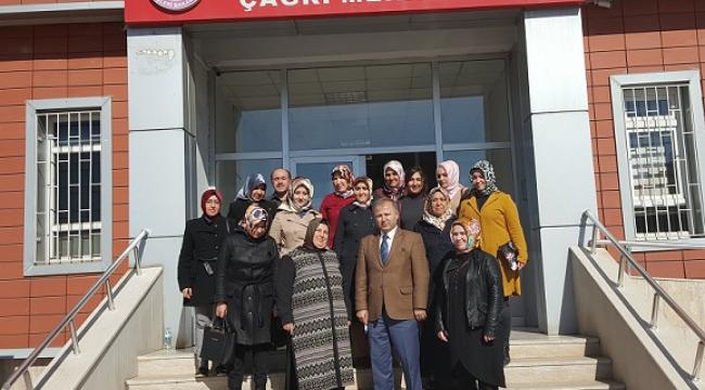 DULKADİROĞLU AK PARTİ KADIN KOLLARINDAN 112 AÇM'Yİ ZİYARET..