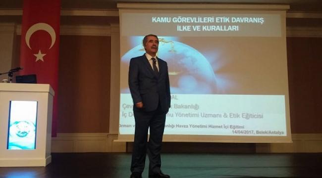 AHMET SANDAL ANTALYA VE ANTAKYA'DA SEMİNER SUNDU..