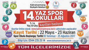 BÜYÜKŞEHİR'DEN 11 İLÇEYE YAZ SPOR OKULU..