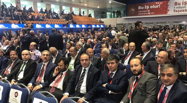 KMTSO HEYETİ TOBB 73. GENEL KURULU'NDA ..