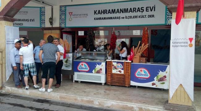 KÜLTÜR FESTİVALİNE KAHRAMANMARAŞ EVİ..