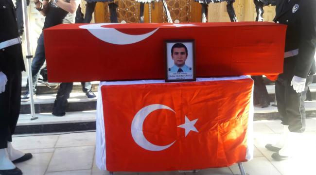NÖBET ŞEHİDİ SON YOLCULUĞUNA UĞURLANDI..