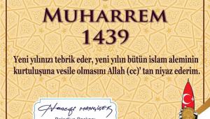 BAŞKAN MAHÇİÇEK'TEN HİCRİ YIL MESAJI..