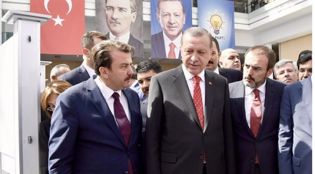 CUMHURBAŞKANIMIZ ERKOÇ'A DEVAM DEDİ...