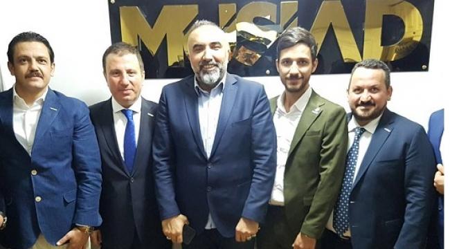 MARAŞ MÜSİAD'DA MUSTAFA BULUNTU DEVRİ BAŞLADI..