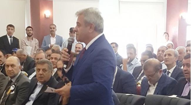 SANAYİCİLER FAKIBABA'YA RAPOR SUNDU..