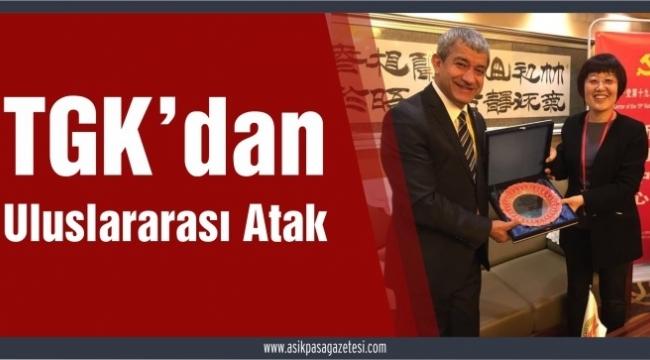TÜRKİYE GAZETECİLER KONFEDERASYONU'NA ÇİN'DEN KARDEŞ..