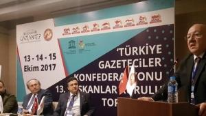 TÜRKİYE'NİN GAZETECİLERİ 13. KEZ TOPLANDI..
