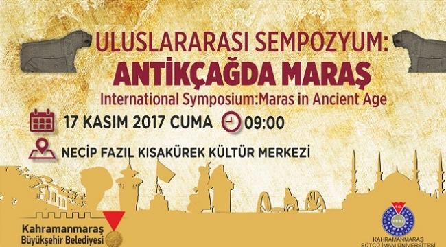 ANTİKÇAĞDA MARAŞ' SEMPOZYUMU PROGRAMI..
