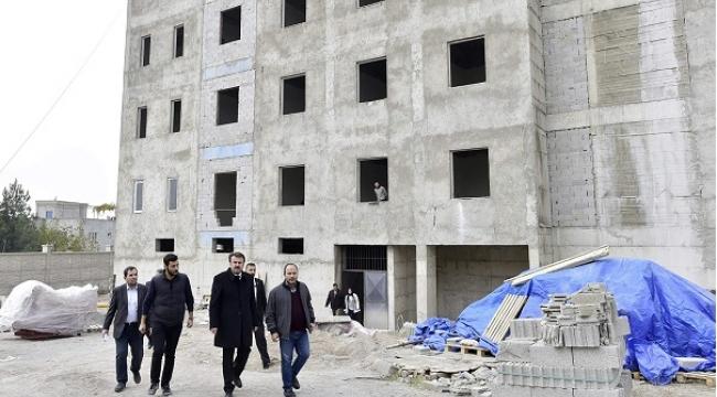 BAŞKAN ERKOÇ TENZİLER ERDOĞAN İHL'DE İNCELEMELERDE BULUNDU..