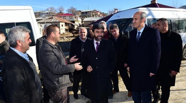 DULKADİROĞLU'NDAN BAŞDERVİŞLİ MAHALLESİNE SOSYAL TESİS..