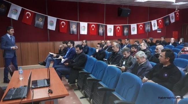 DOĞAKA 2018 YILI MALİ DESTEKLEME PROJESİ GÖKSUN'DA ANLATILDI..