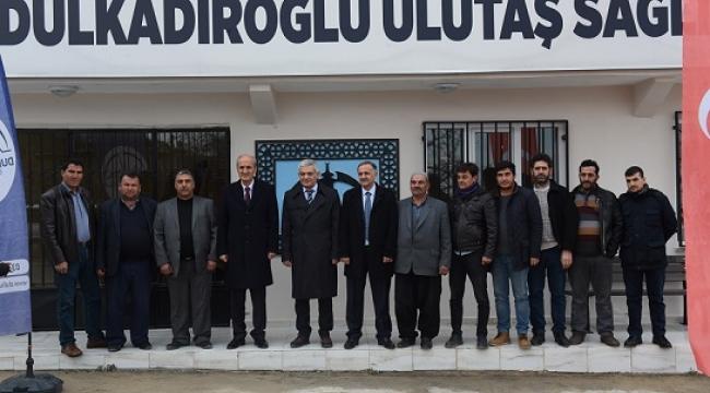 DULKADİROĞLU'NDAN ULUTAŞ'A SAĞLIK MERKEZİ..