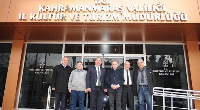 GAZETECİLER CEMİYETİNDEN KÜÇÜKDAĞLI'YA 'HAYIRLI OLSUN' ZİYARETİ..