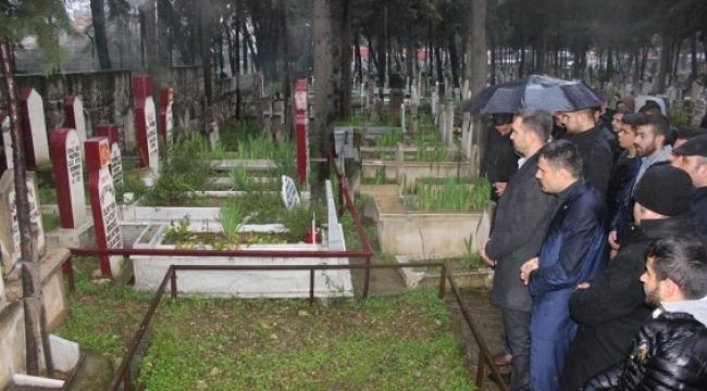 Ülkü Ocakları Şehit Erkenez Kardeşleri unutmadı...