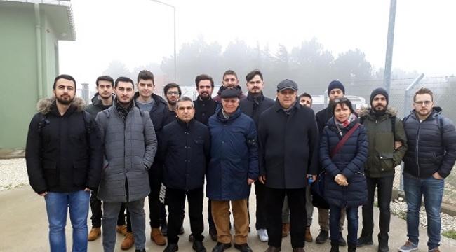 SANKO ENERJİ ÇATALCA RES'E ZİYARET..