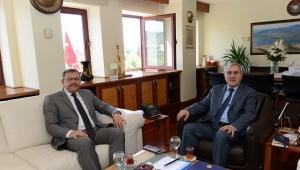 Göksun Belediye Başkanı Aydın, Rektör Can'ı Ziyaret Etti..