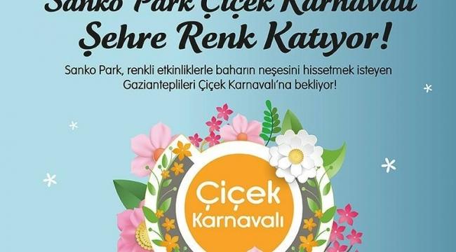 SANKO PARK ÇİÇEK KARNAVALI, GAZİANTEP'E RENK KATIYOR