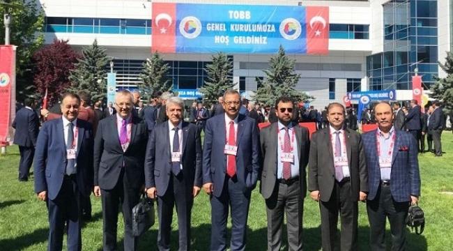 KMTSO,TOBB'DA ÜST DÜZEYDE TEMSİL EDİLECEK ..