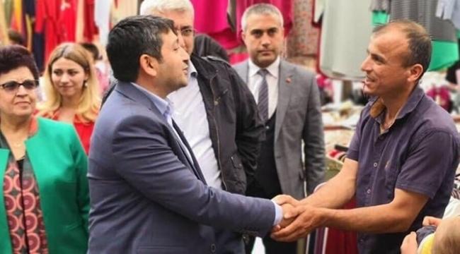 MHP ADAY ADAYI ÖZKAN'DAN ESNAF ZİYARETİ