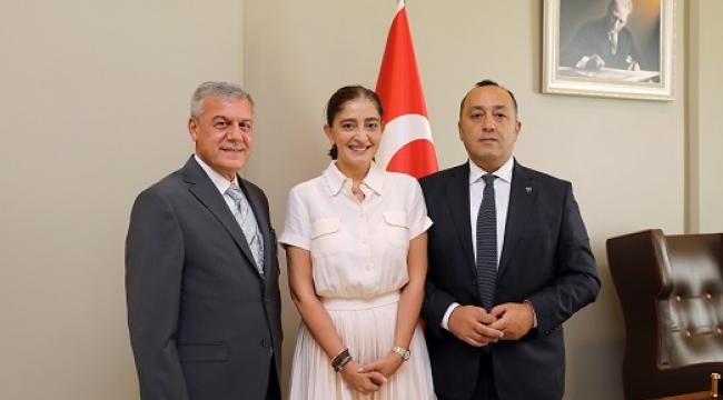 SANKO OKULLARI'NDA YENİ GENEL MÜDÜR FIRAT MÜMTAZ ASYALI..
