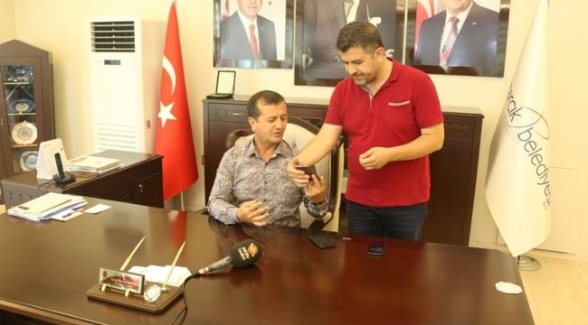 BAŞKAN BOZDAĞ'DAN AMERİKA BOYKOTU..