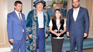 KAZAKİSTANLI GAZETECİLER SANKO'DA