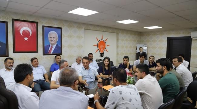 KMAGC'DEN BAŞKAN DEBGİCİ'YE ZİYARET!