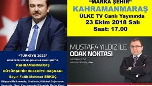 BAŞKAN ERKOÇ ODAK NOKTASI'NDA..