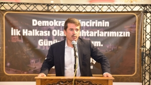 BAŞKAN OKUMUŞ'UN MİSAFİRLERİ MUHTARLAR...