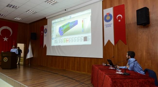 KSÜ'DE SOLİDWORKS EĞİTİM SEMİNERİ DÜZENLENDİ