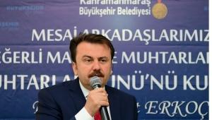 MUHTARLARDAN BAŞKAN ERKOÇ'A TEŞEKKÜR..