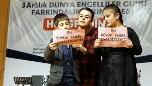 BÜYÜKŞEHİR'DEN ENGELLİLERE UNUTULMAZ BİR GECE..