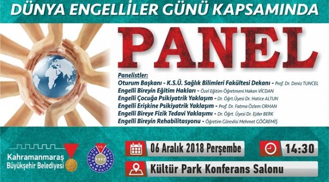 BÜYÜKŞEHİR'DEN ENGELSİZ PANELİ..