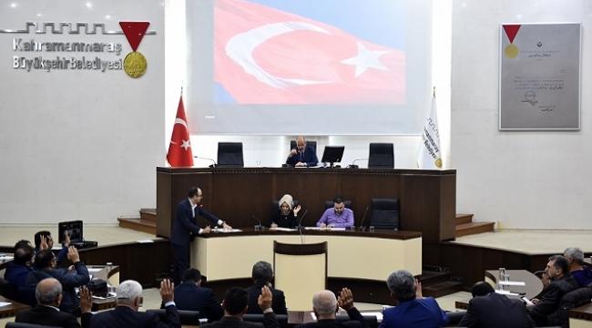 DULKADİROĞLU BELEDİYESİ ARALIK AYI MECLİS TOPLANTISI YAPILDI..