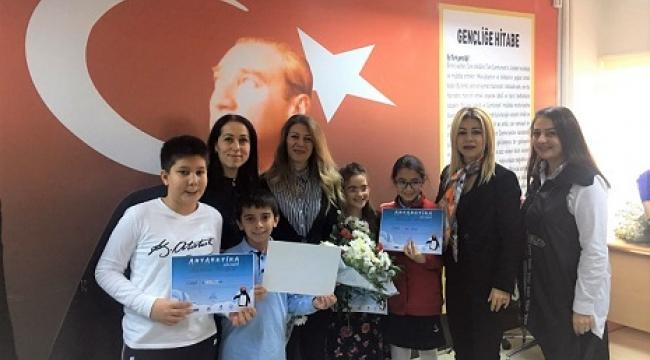 SANKO OKULLARININ 4 RESMİ ANTARKTİKA DA SERGİLENECEK..