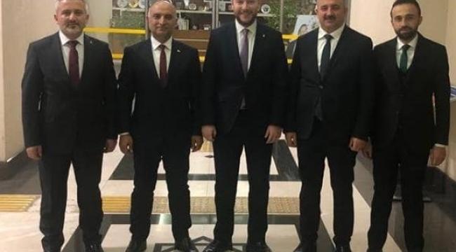 AK PARTİ İLÇE BAŞKANLARI BELLİ OLDU...