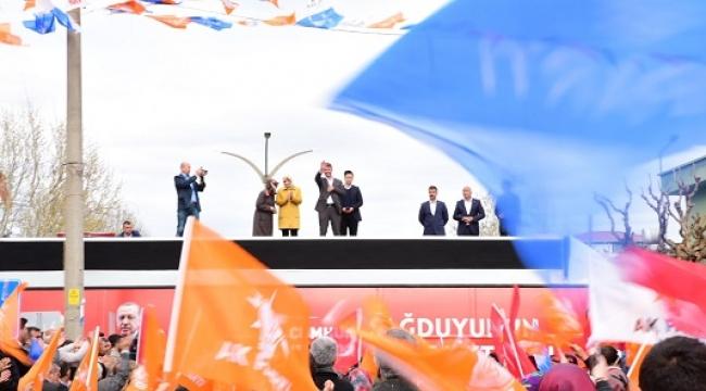 BEYOĞLU'NDA OSMAN OKUMUŞ RÜZGARI ESTİ..