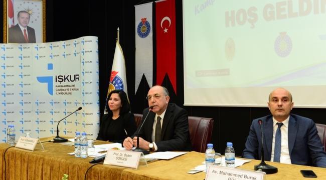KSÜ, 'İşkur Kampüste; Kariyer Günleri' Etkinliğine Ev Sahipliği Yaptı..