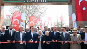 Recep Tayyip Erdoğan Millet Bahçesi Açıldı..