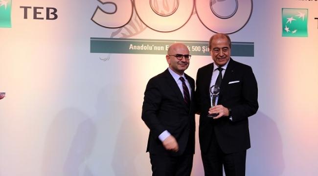 SANKO, Anadolu 500'de en çok şirketi olan grup oldu...