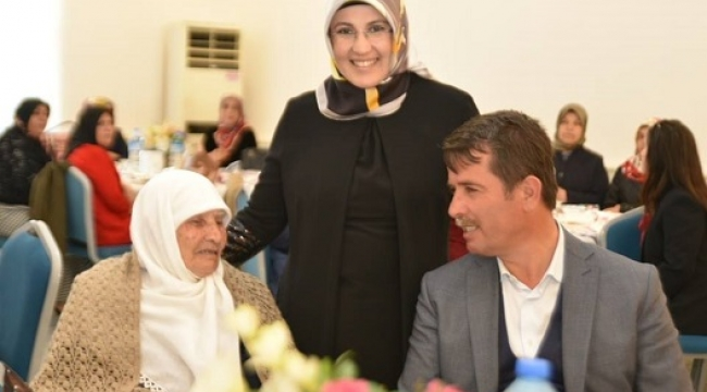 Türkoğlu'nda Kadınlar Unutulmadı...