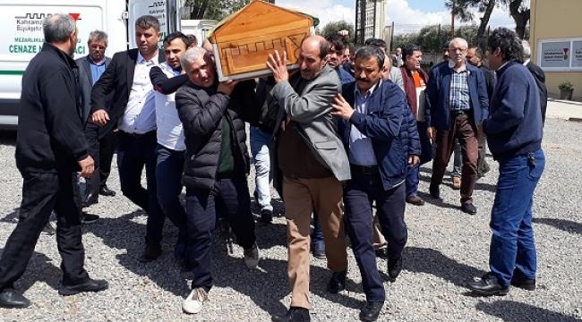 GAZETECİ GÖKHAN ŞAHİN BABASINI TOPRAĞA VERDİ..