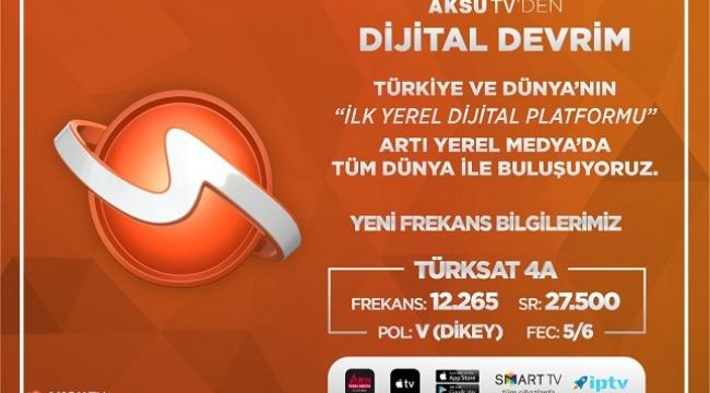 """Aksu TV'den """"Dijital Devrim"""".."""
