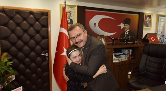 BAŞKAN AYDIN, ENGELLİ BİREYLER TOPLUMUN AYRILMAZ BİR PARÇASIDIR..