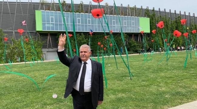 Başkan Mahçiçek EXPO ve Maraş'ı Fransızlara Anlattı..